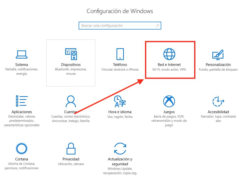Ilustración del segundo paso del tutorial para cambiar DNS en Windows